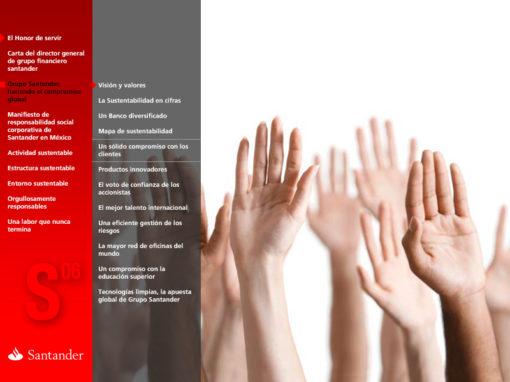 Banco Santander Memoria de Responsabilidad Social