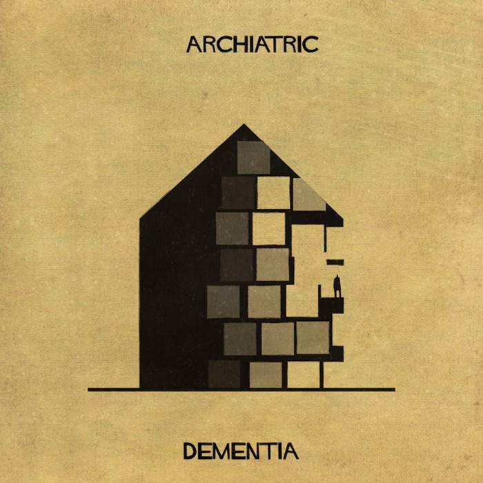 Bavina archiatric dementia