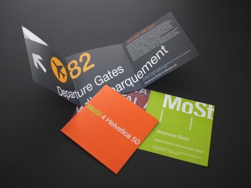 Brochure Helvetica 50